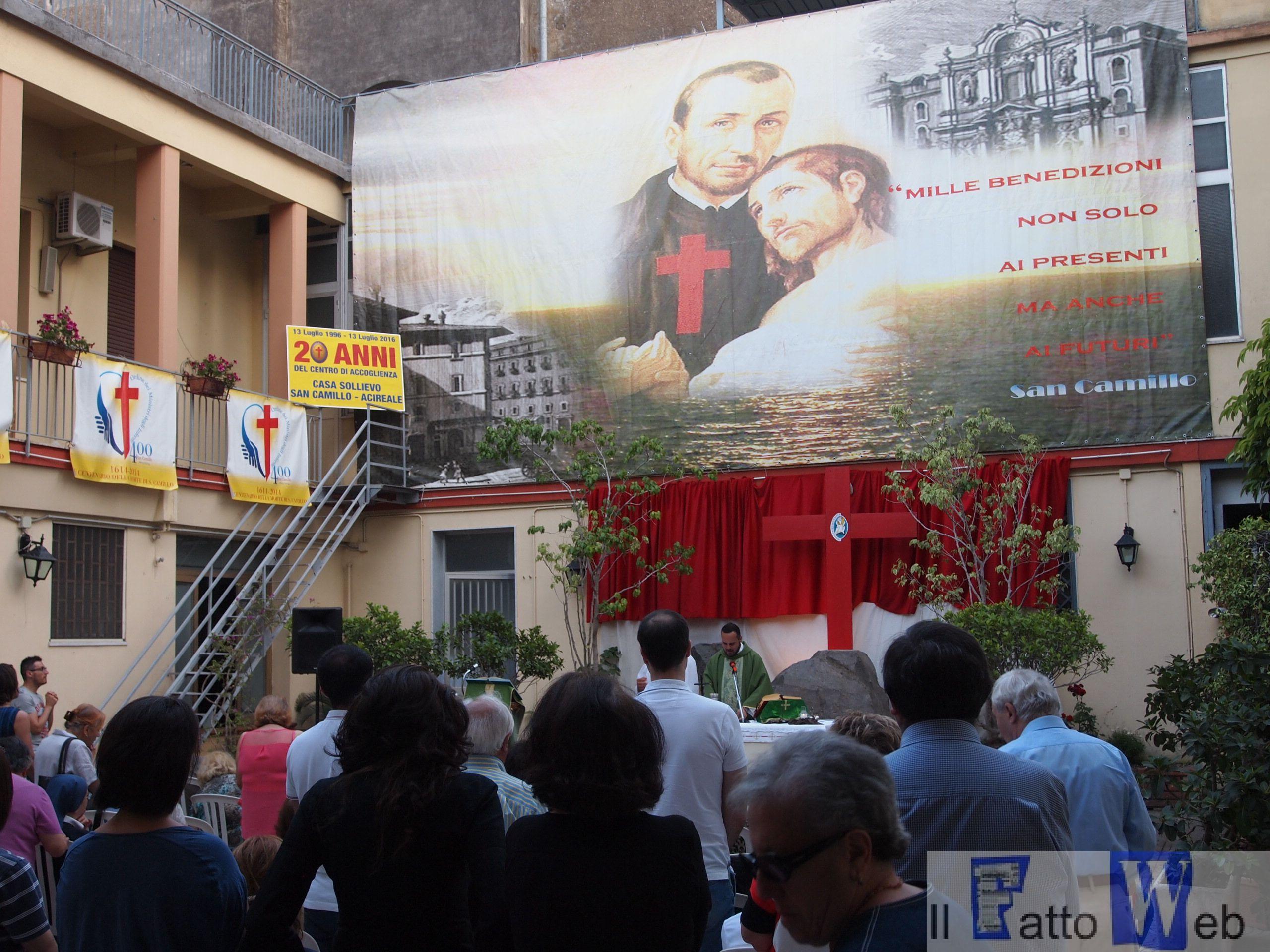 """Il centro di accoglienza  """"Casa sollievo San Camillo"""" festeggia il 20esimo anniversario"""