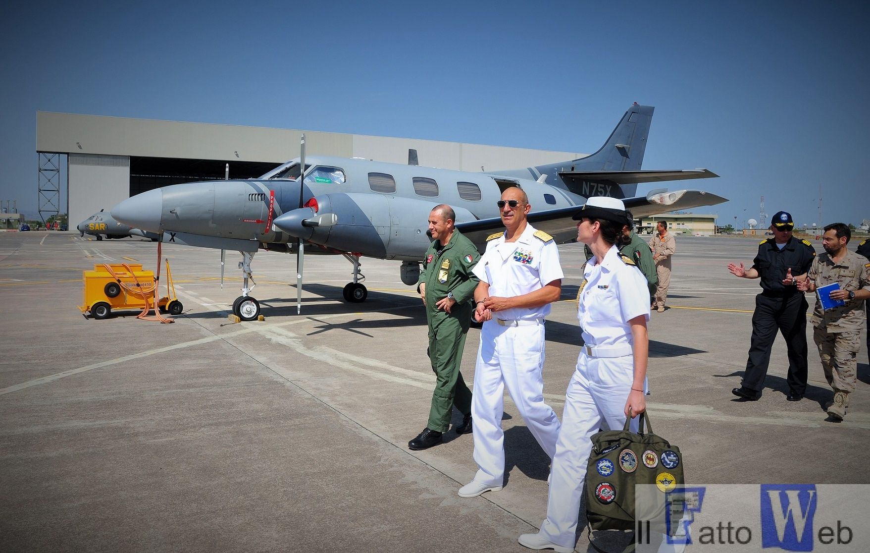 Momento della visita guidata all'Aeroporto (5)