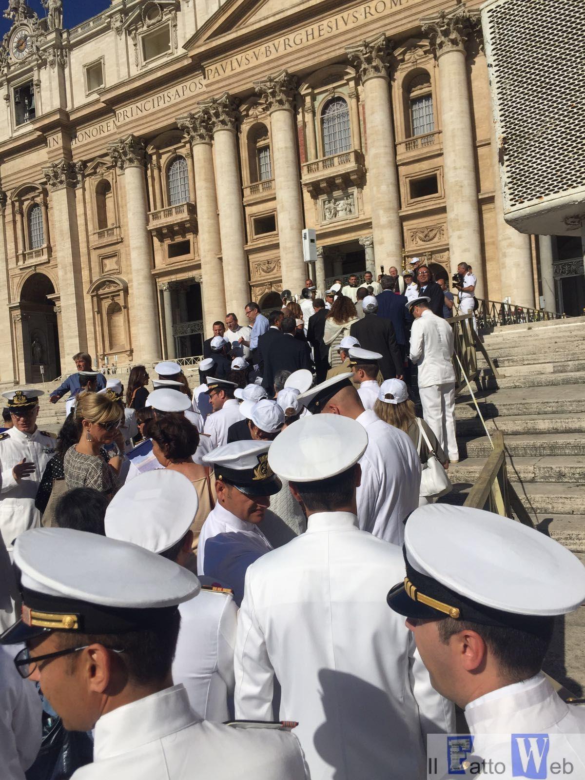 Capitanerie di porto – Guardia costiera: una messa in Vaticano per celebrare il 151° anniversario del Corpo