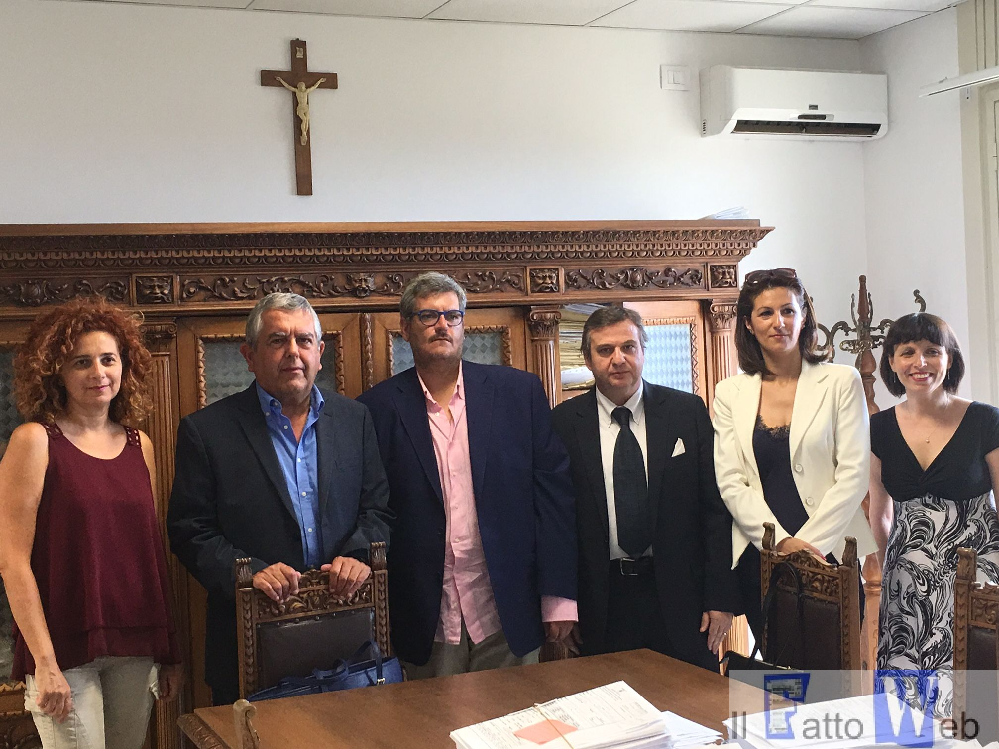 Firmata la convenzione tra ispettorato del lavoro e associazione Agosta che  gestirà uno sportello antiracket