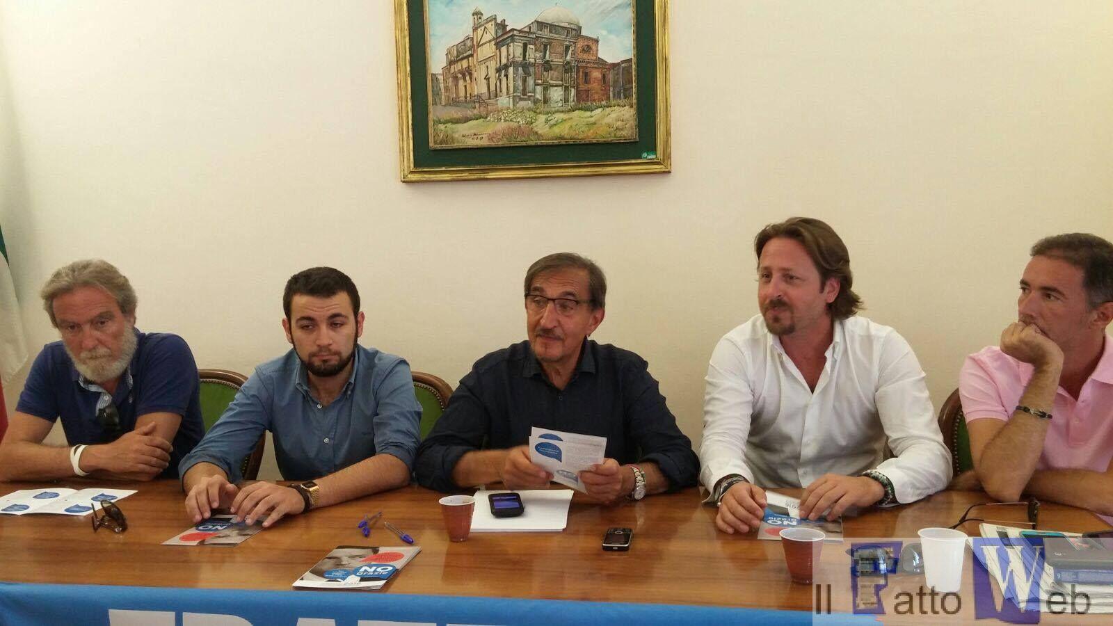 FdI a Catania e a Ragalna con gli esponenti del centro destra siciliana per dire No al referendum costituzionale
