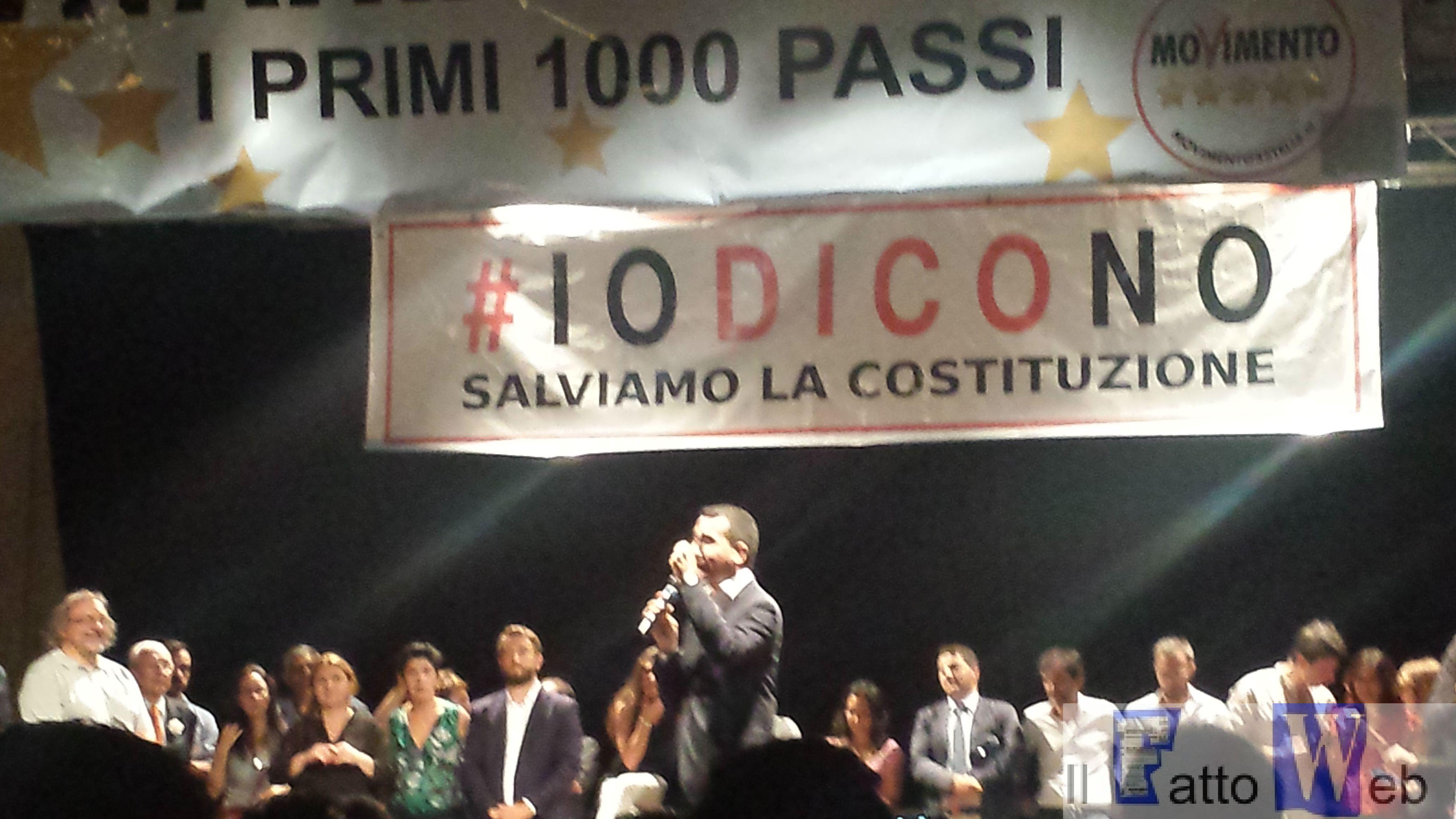 Movimento 5 Stelle a Catania per dire NO alla riforma costituzionale – VIDEO