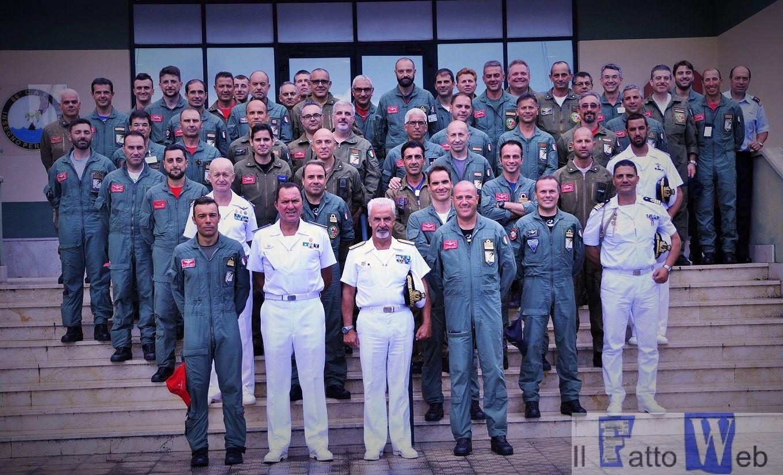 Sigonella: visita del Comandante in Capo della Squadra Navale