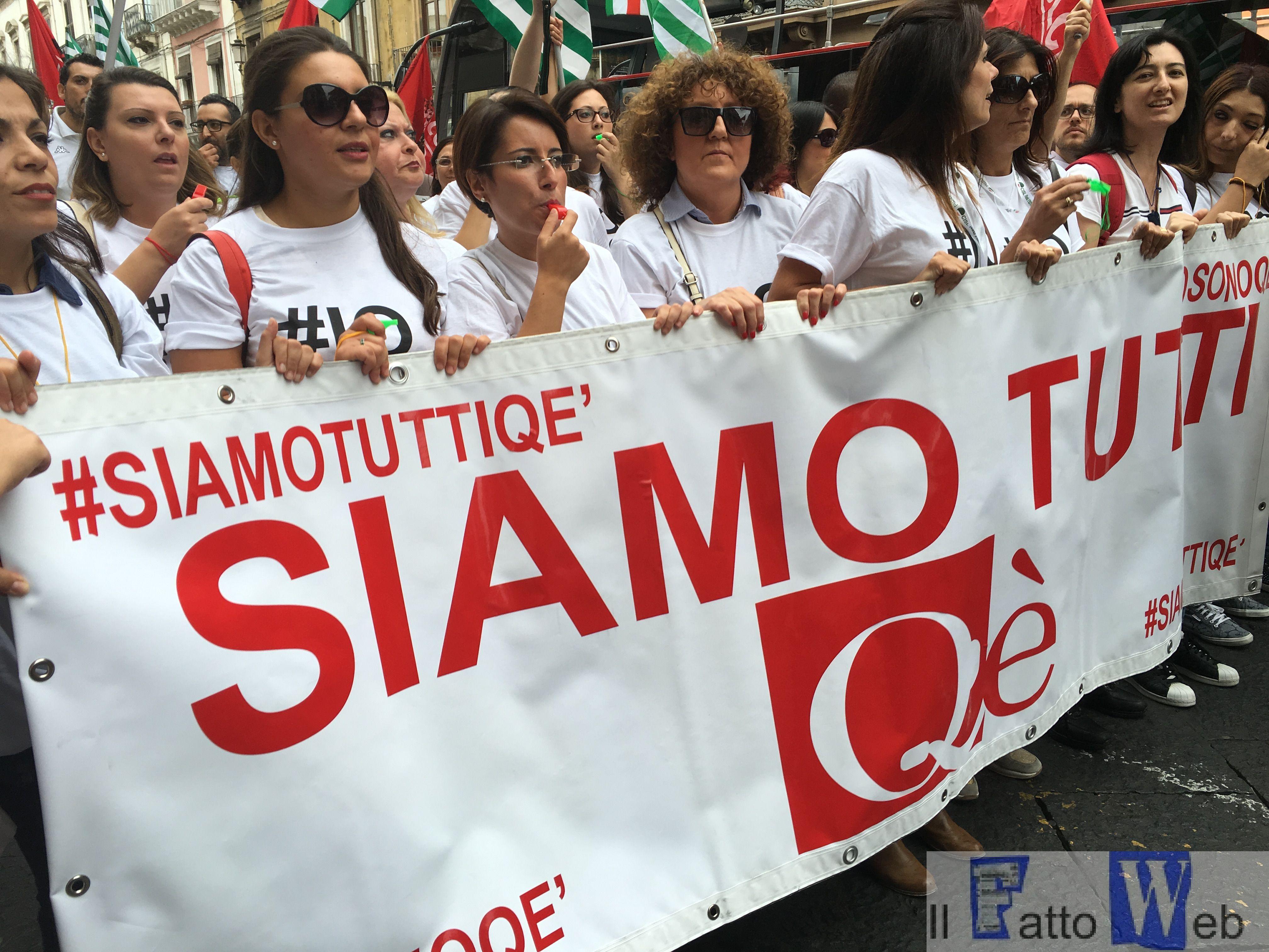 Vertenza Call center Qè di Paternò, oggi manifestazione a Catania per dire no al licenziamento di 600 operatori