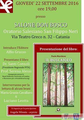 """Iurisprudenza """"Il Boscaiolo"""", il primo romanzo di Paola Marchese"""
