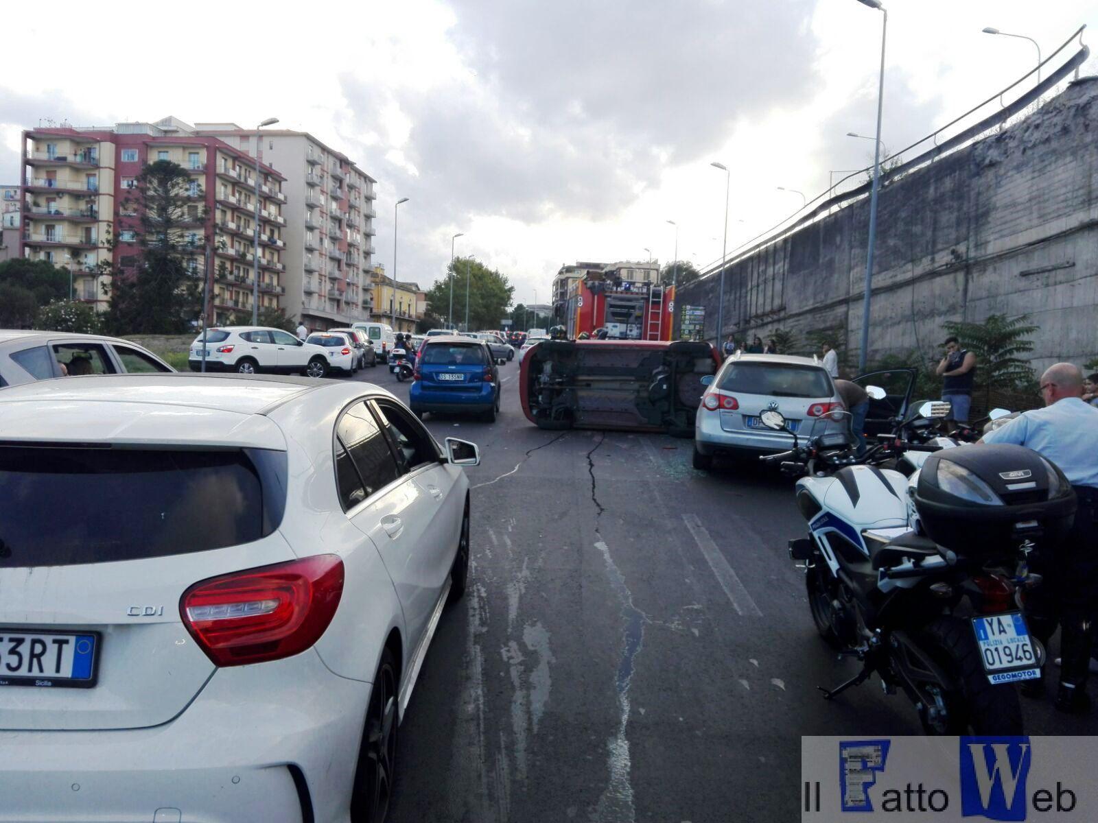 Incidente circonvallazione: situazione normalizzata dopo 19.30