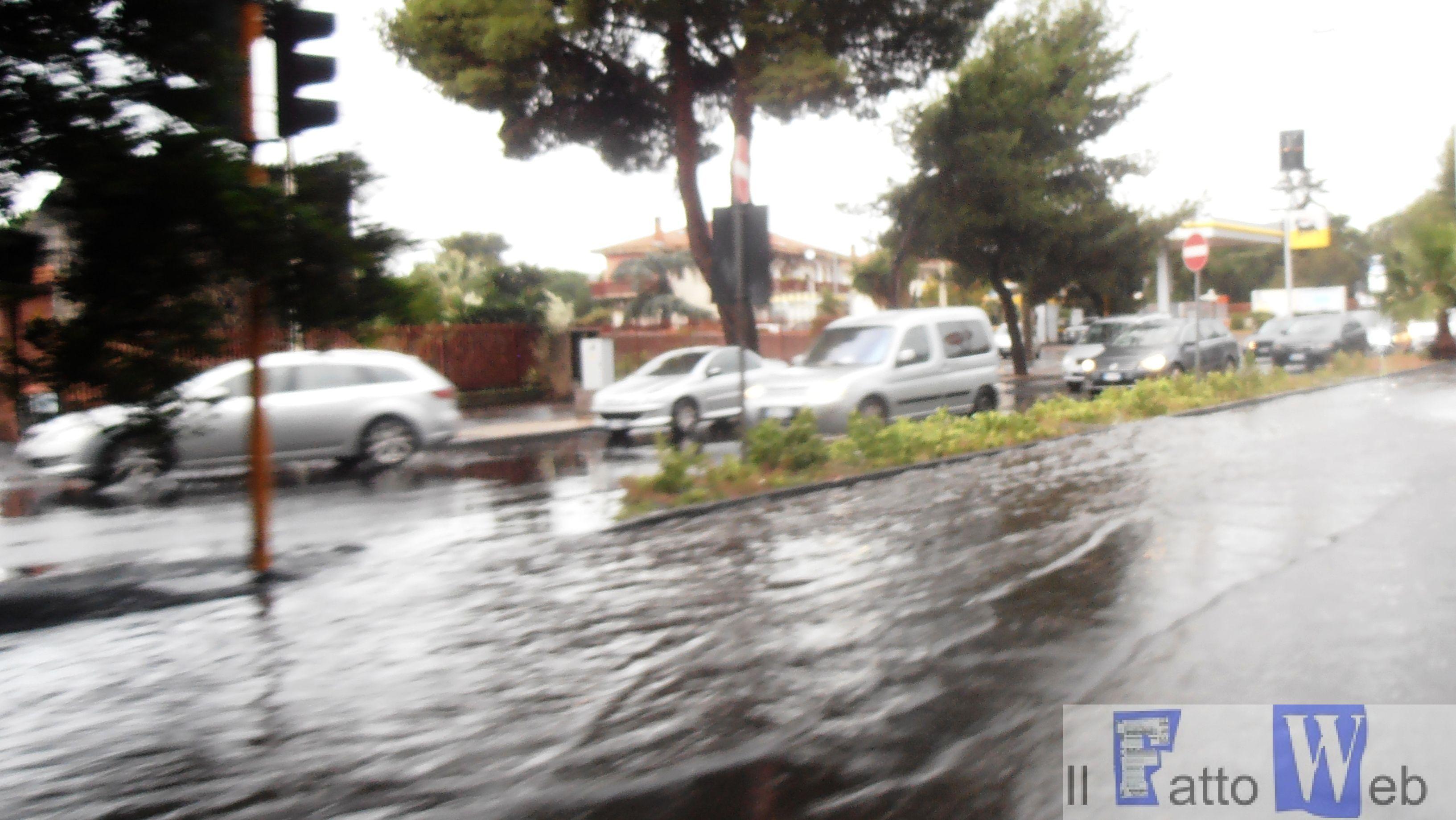 Disagi Viabilità stamattina a Catania.