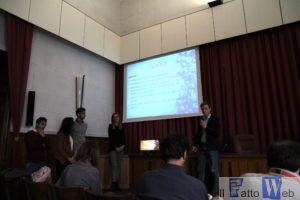 Gruppo di lavoro durante la presentazione