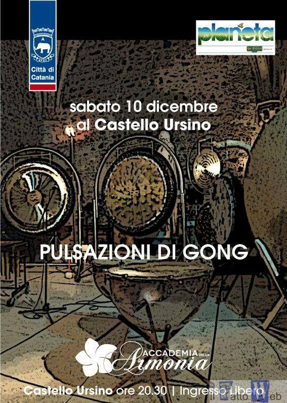 """L'Accademia dell'Armonia presenta """"Pulsazioni di gong"""""""