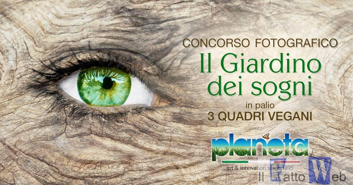 """Al via il I concorso fotografico """"Il giardino dei sogni"""" promosso da Planeta Grandi Vivai Sciacca"""