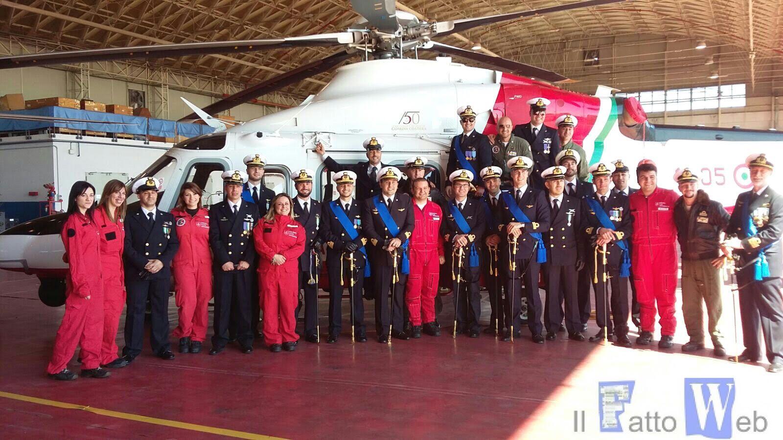 Guardia Costiera : consegna attestati ai Medici del CISOM