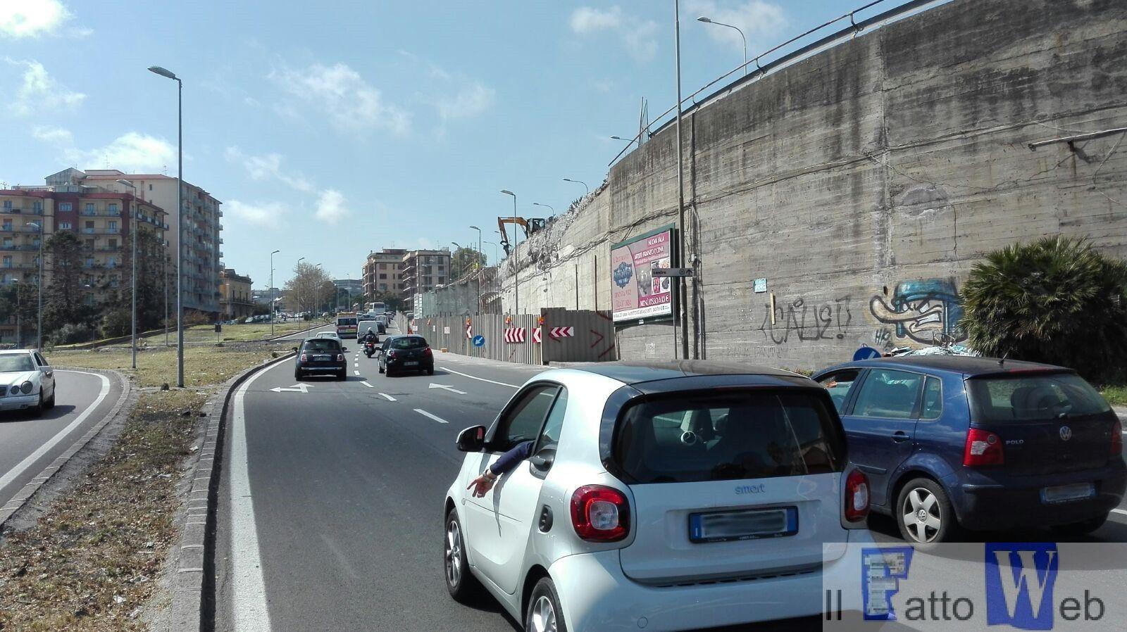 Tondo Gioeni: traffico scorrevole con nuova viabilità