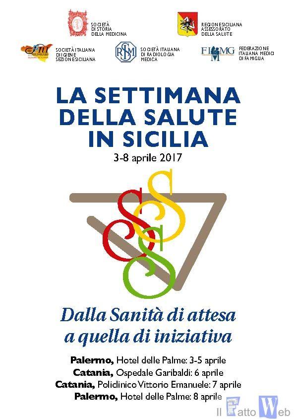 """Catania protagonista, per due giorni,  de """"La Settimana della Salute in Sicilia"""""""