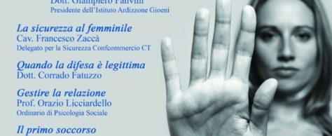 """""""Sicurezza Donna"""", presentazione del seminario giovedì 6 aprile"""