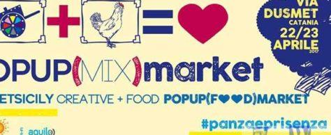 Popupmarket: fine settimana in via Dusmet