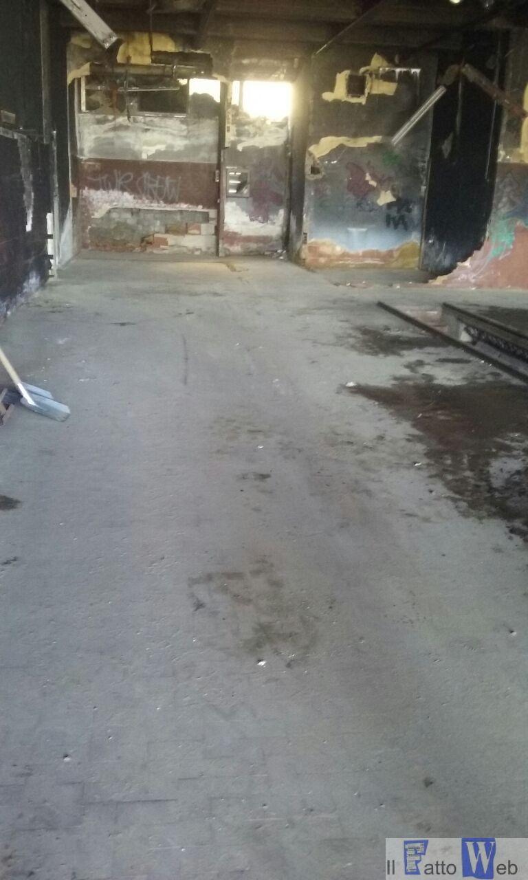 Ex Palazzo delle Poste di viale Africa, intervento straordinario di pulizia
