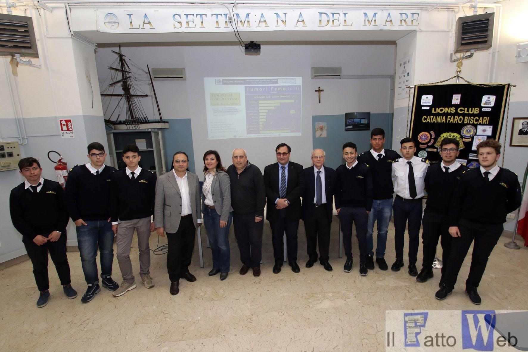 """All'Isis """"Duca degli Abruzzi"""" di Catania conferenza sulla sessualità con il Lions Club """"Faro Biscari"""""""