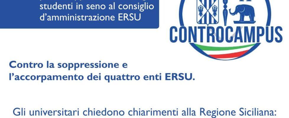 """Gli universitari chiedono chiarimenti: """"Quando potremo eleggere i nostri consiglieri all'ERSU?"""""""