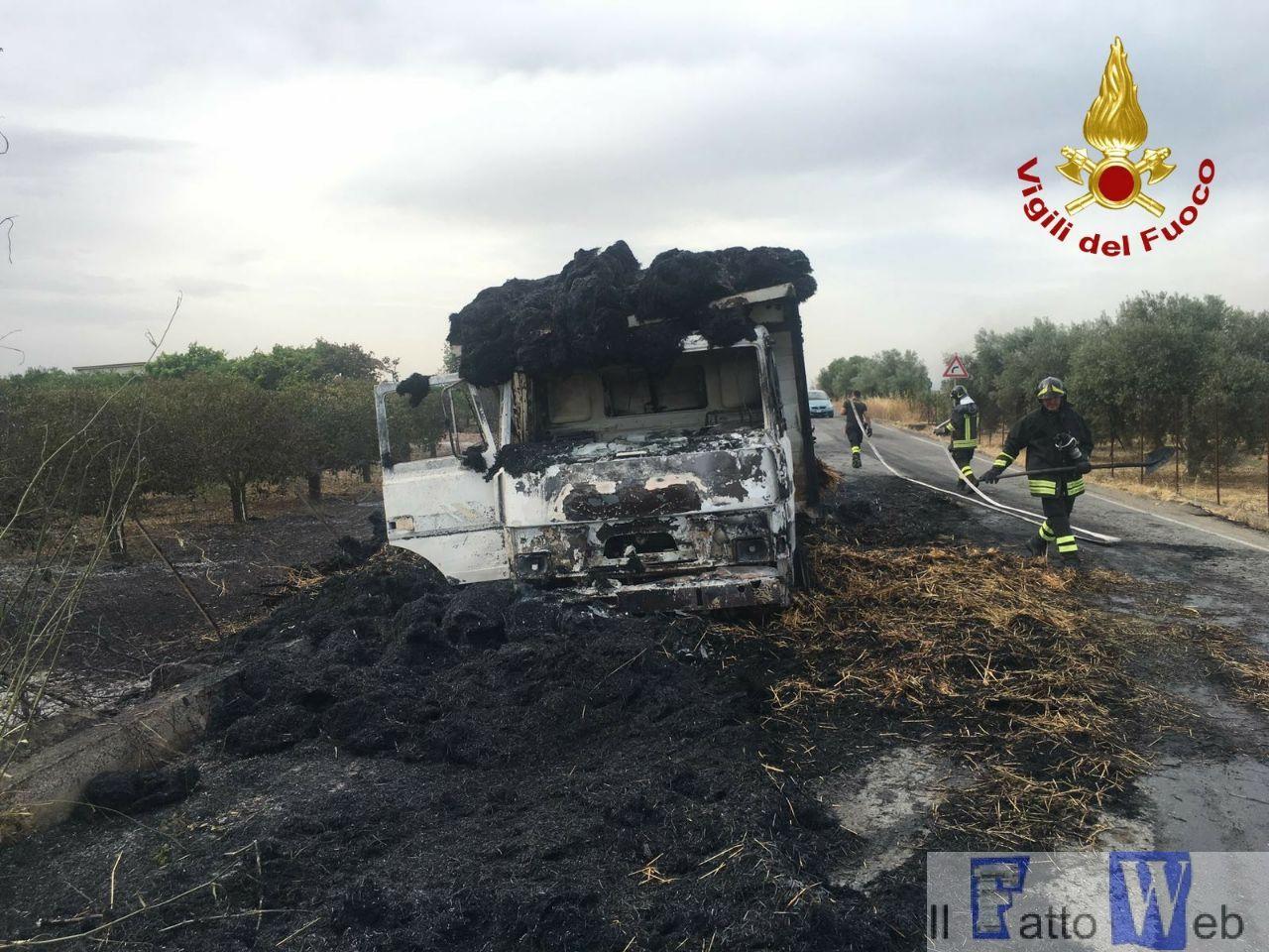 2017_06_28 Intervento per incendio camion