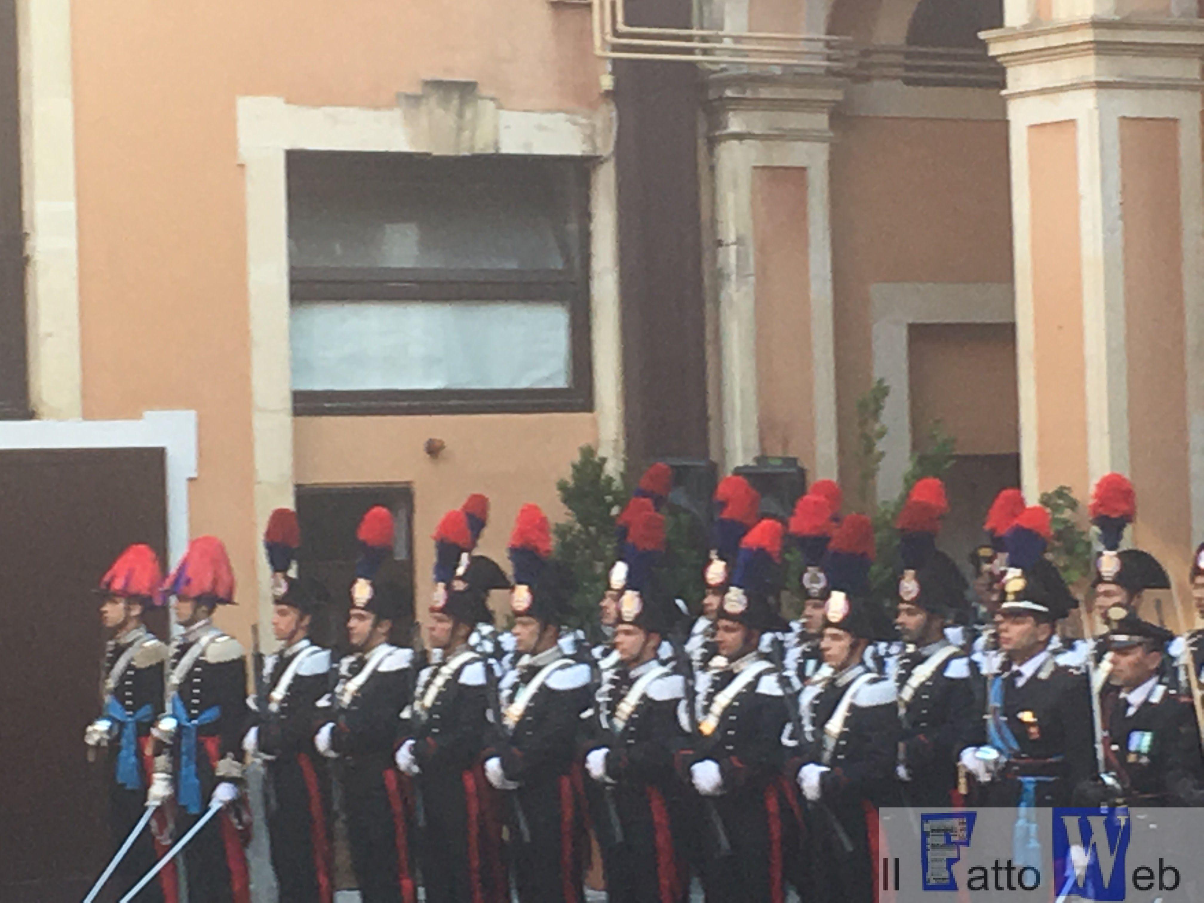 L'Arma dei Carabinieri festeggia il 203° anniversario dalla fondazione