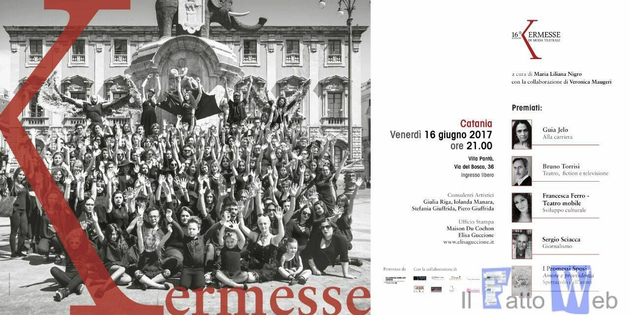 XVI Kermesse di Moda Teatrale assegnati i riconoscimenti