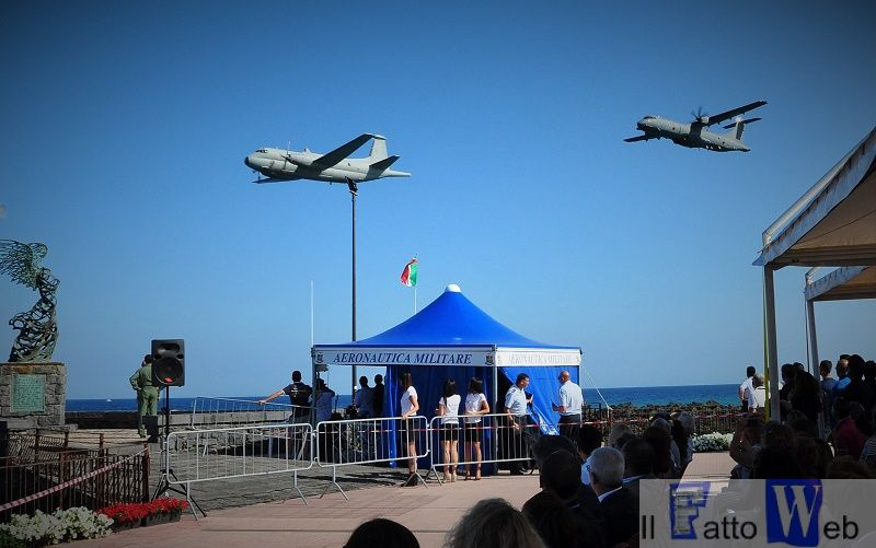 Atlantic e P-72A al Giardini Naxos Air Show
