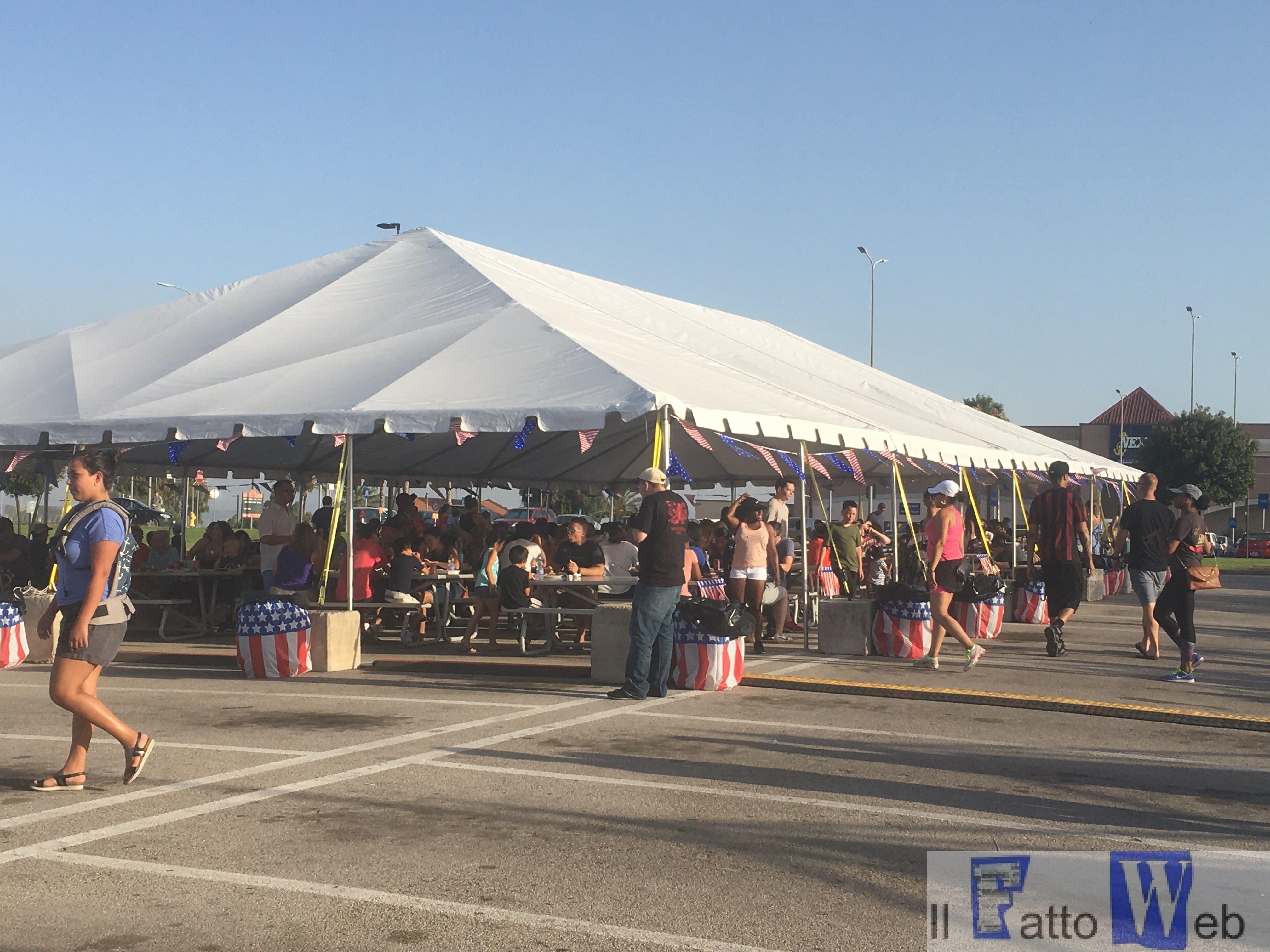 Gli Americani della Base Navale di Sigonella festeggiano l'Independence Day