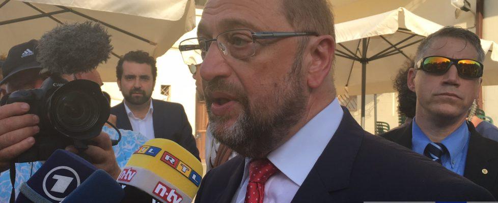 """Schulz in visita a Catania, """"Occorre una nuova politica europea in materia di immigrazione"""""""