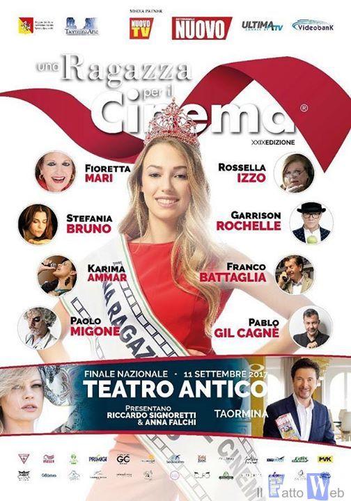 """""""Una Ragazza per il Cinema"""", si concludono le finali regionali in Sicilia"""