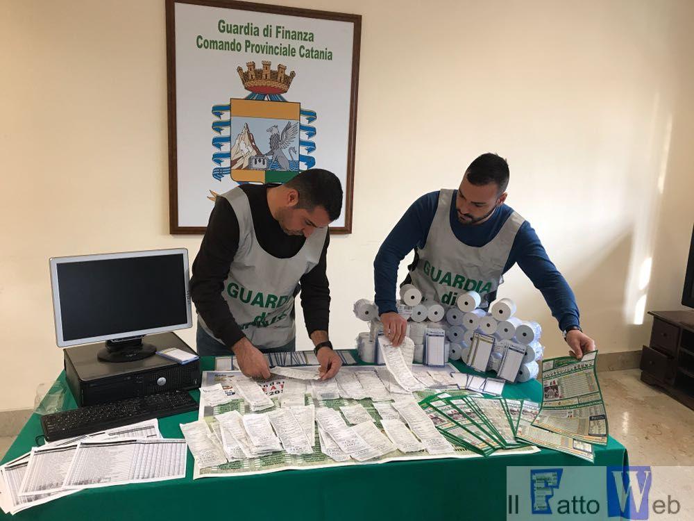 GUARDIA DI FINANZA, CATANIA: SEQUESTRATE 13 AGENZIE ABUSIVE DI SCOMMESSE ILLEGALI.