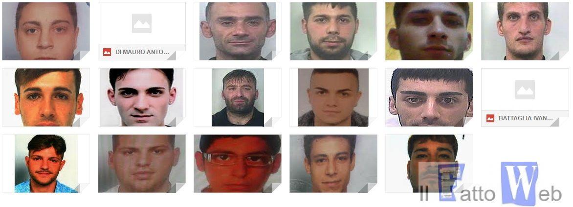 Catania: blitz dei CC nel fortino della droga. 36 arresti; circa 100 le perquisizioni(foto e nomi )