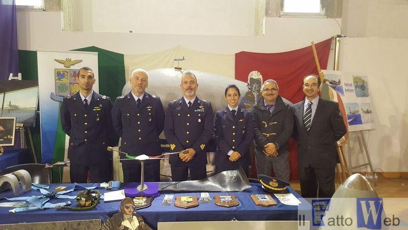 L'Aeronautica Militare vola all'Istituto Tecnico Aeronautico di Catania