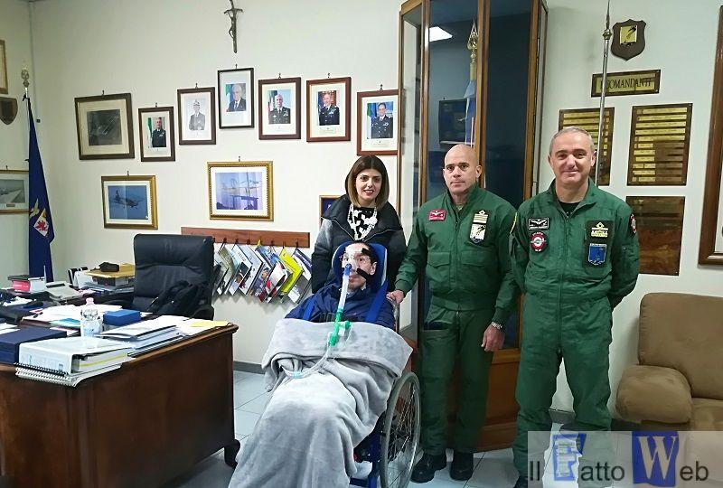 A Sigonella un Natale nel segno della solidarietà con una raccolta fondi in favore dell'Unione Italiana Lotta alla Distrofia Muscolare