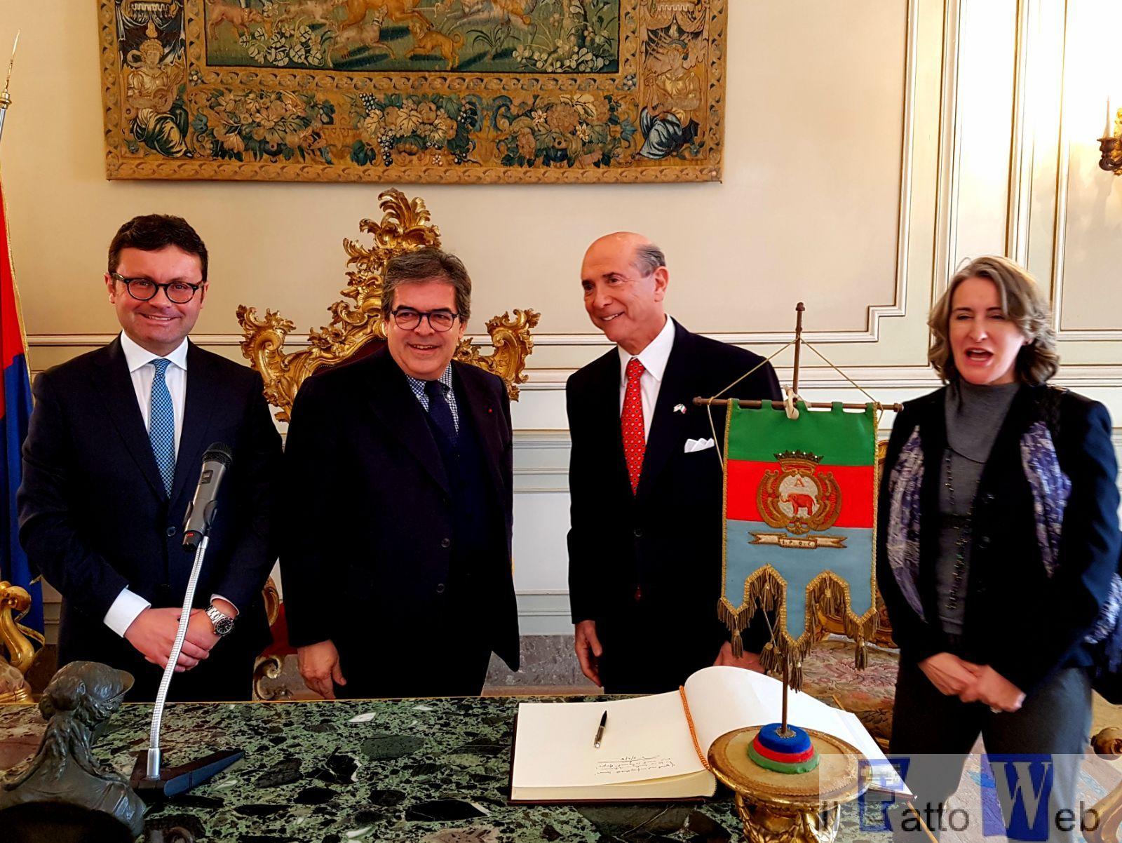 Usa: Bianco incontra ambasciatore Eisenberg