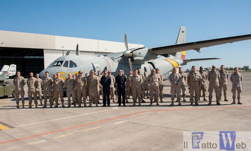 Sigonella: visita del Force Commander di EUNAVFOR MED