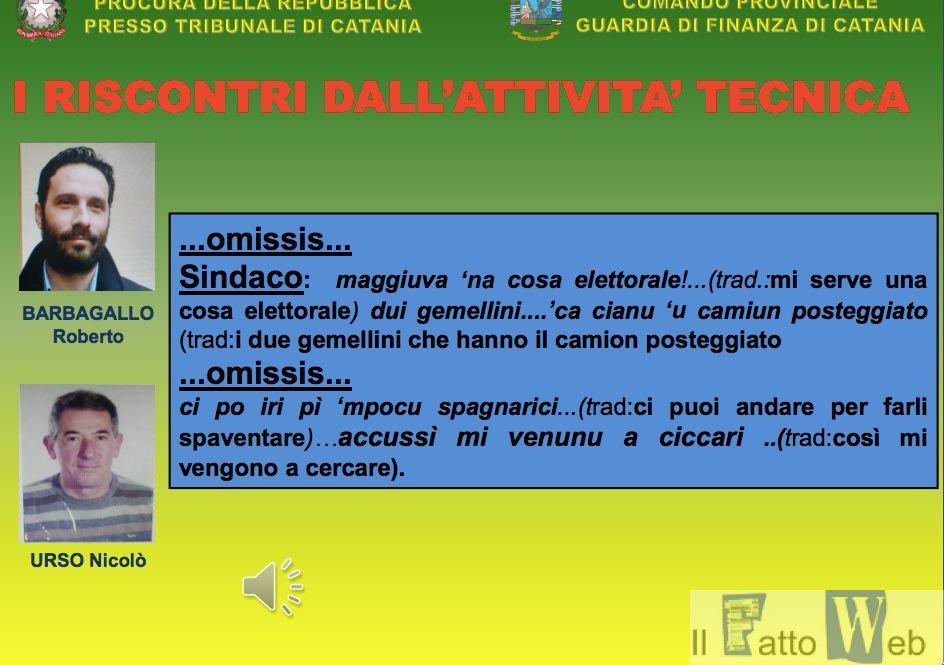 """Arrestato sindaco Acireale in operazione """"SIBILLA"""" Gdf"""