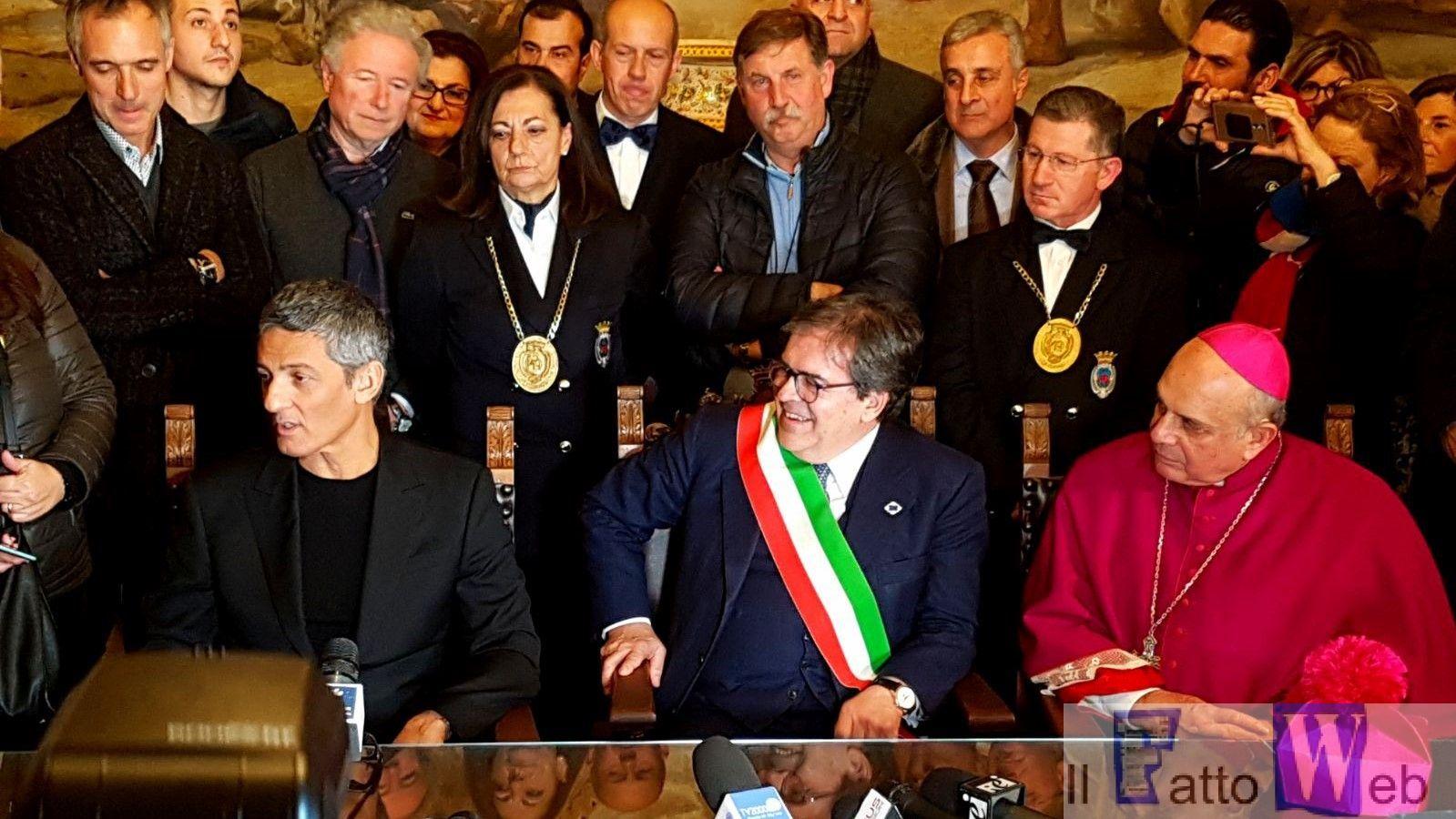 """Candelora d'oro a Rosario Fiorello: """"Catania mi ha dato la vita"""""""