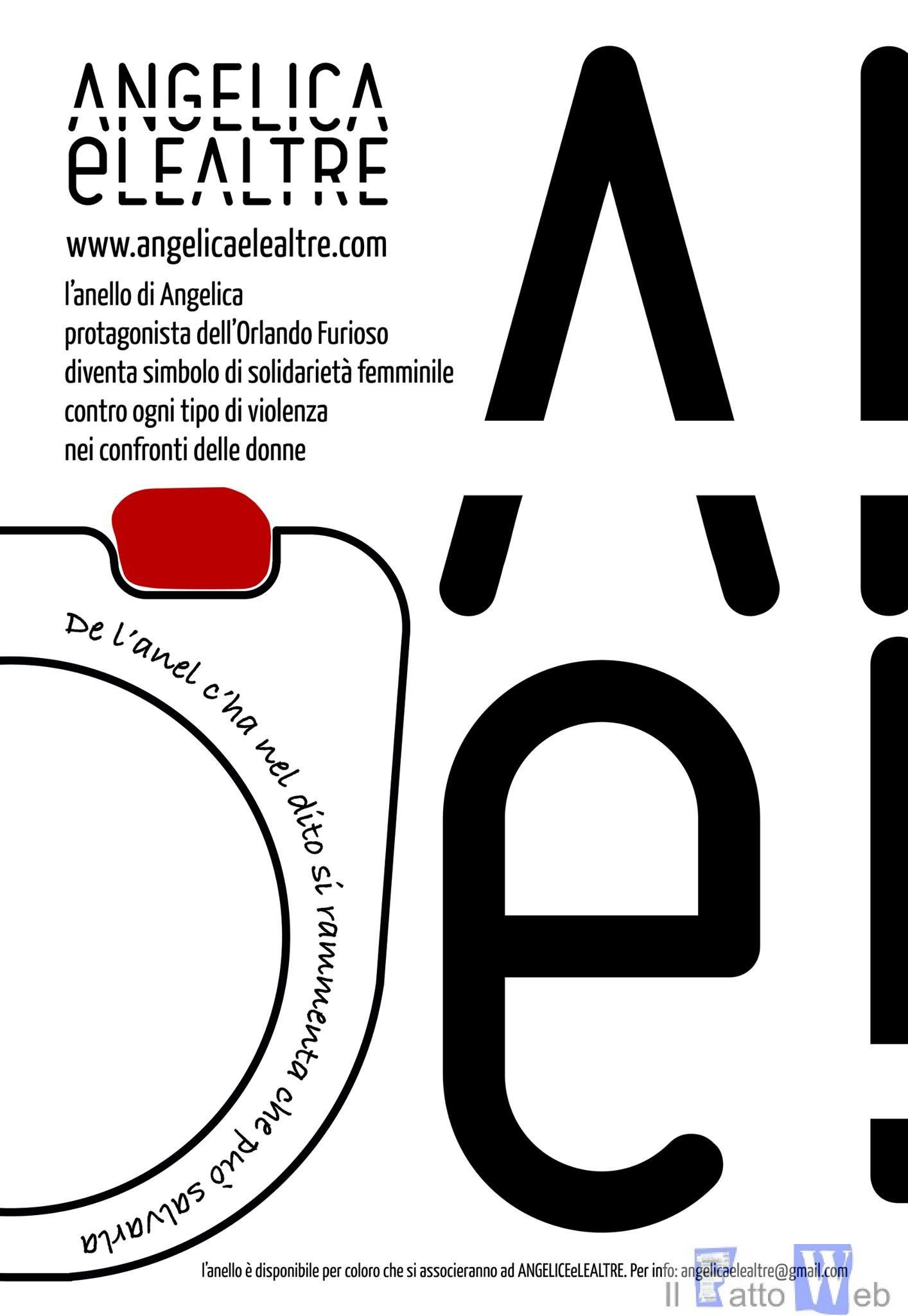 ANGELICAeLEALTRE, un progetto per la lotta contro ogni tipo di violenza sulle donne