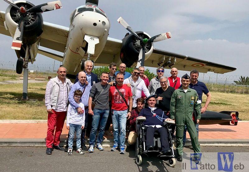 Gli Avieri del 163° corso VAM a Sigonella dopo 32 anni dal congedo
