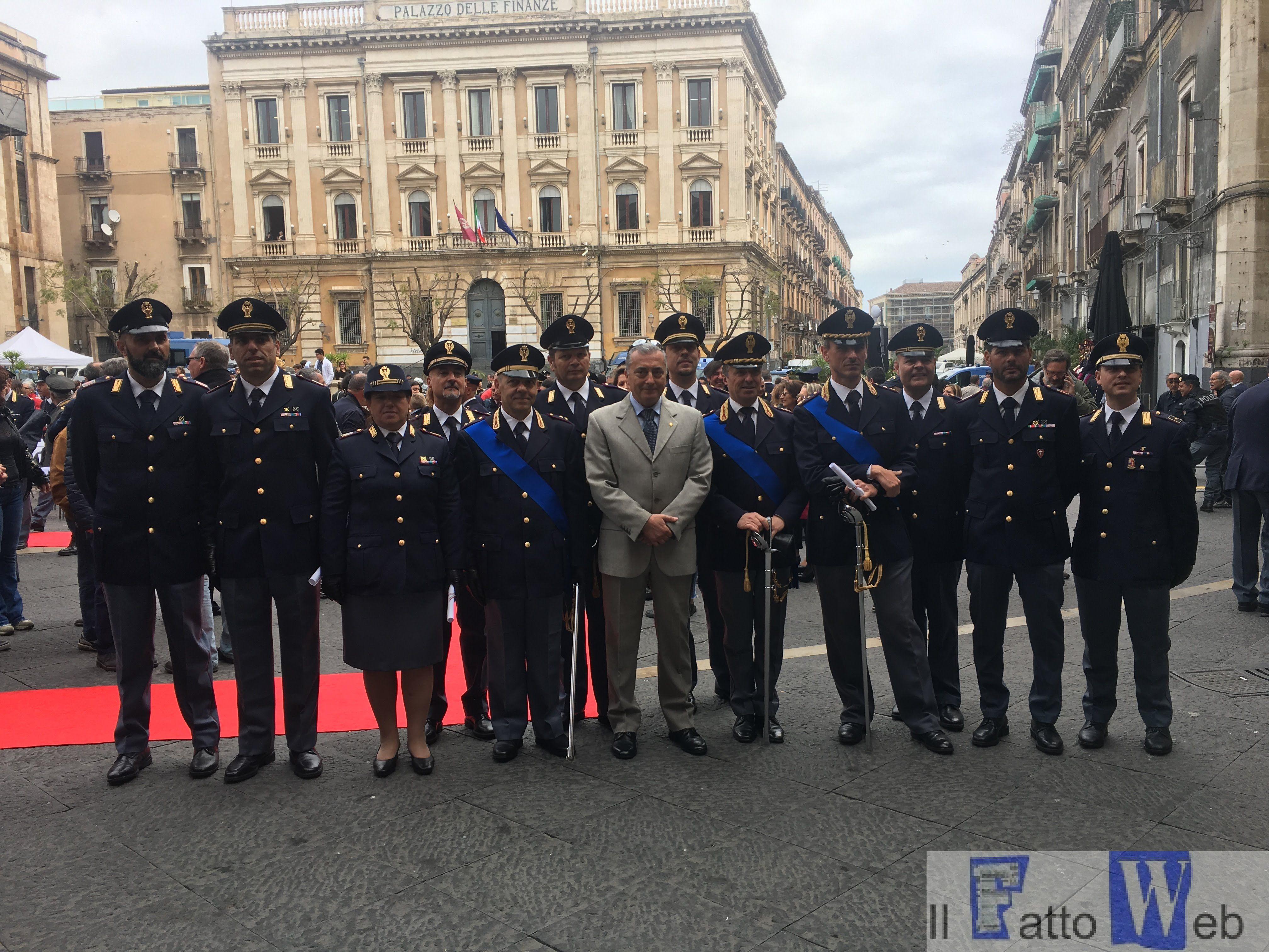 La Questura di Catania festeggia il 166° anniversario della Polizia di Stato