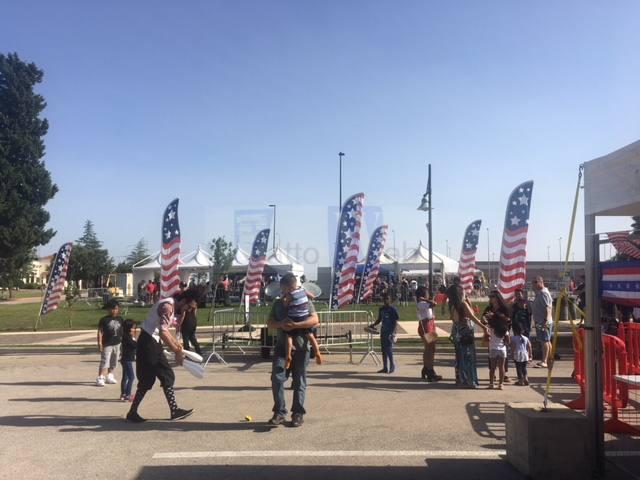 L'independence day alla Stazione Aeronavale della Marina USA di Sigonella