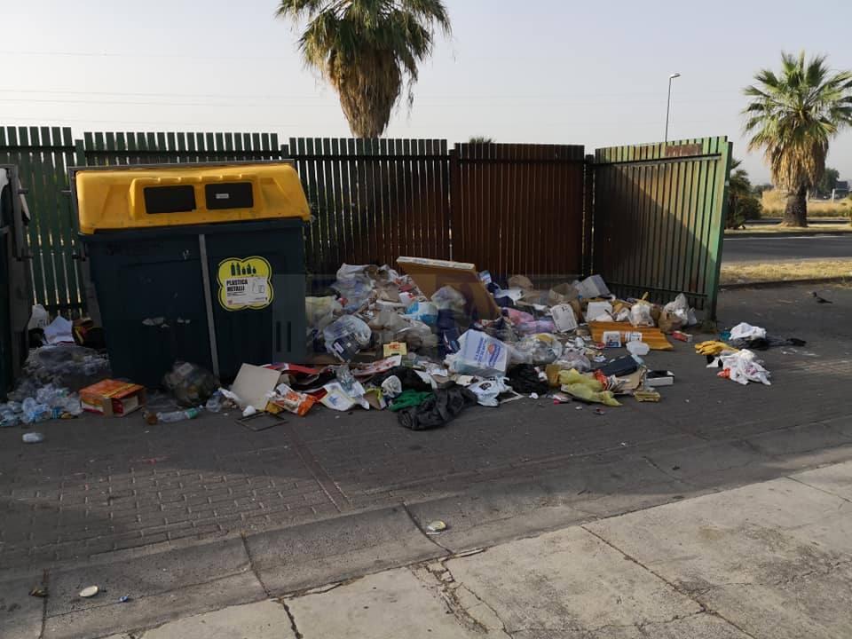 Adiconsum: è allarme rifiuti. Spazzatura non raccolta in tutta la città