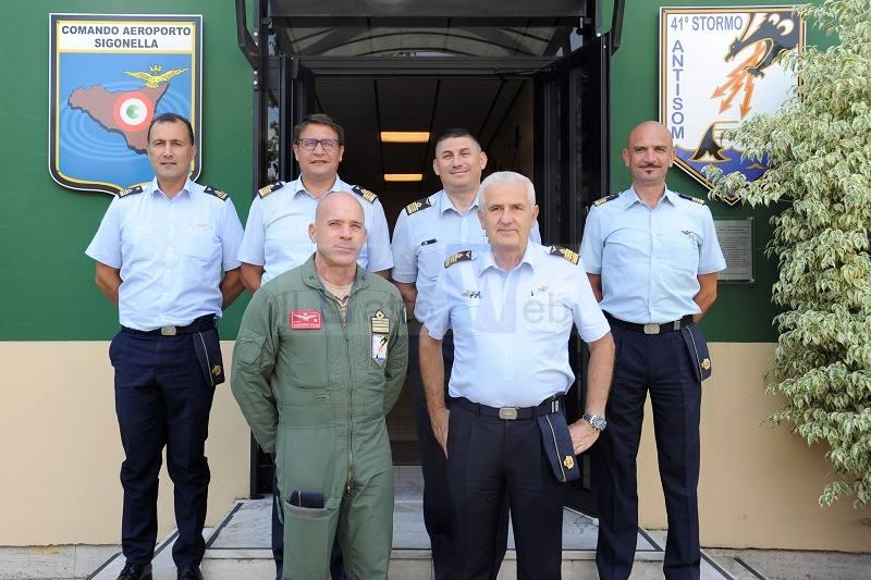 Il Direttore della DIPMA in visita al 41° Stormo e all'Aeroporto di Sigonella
