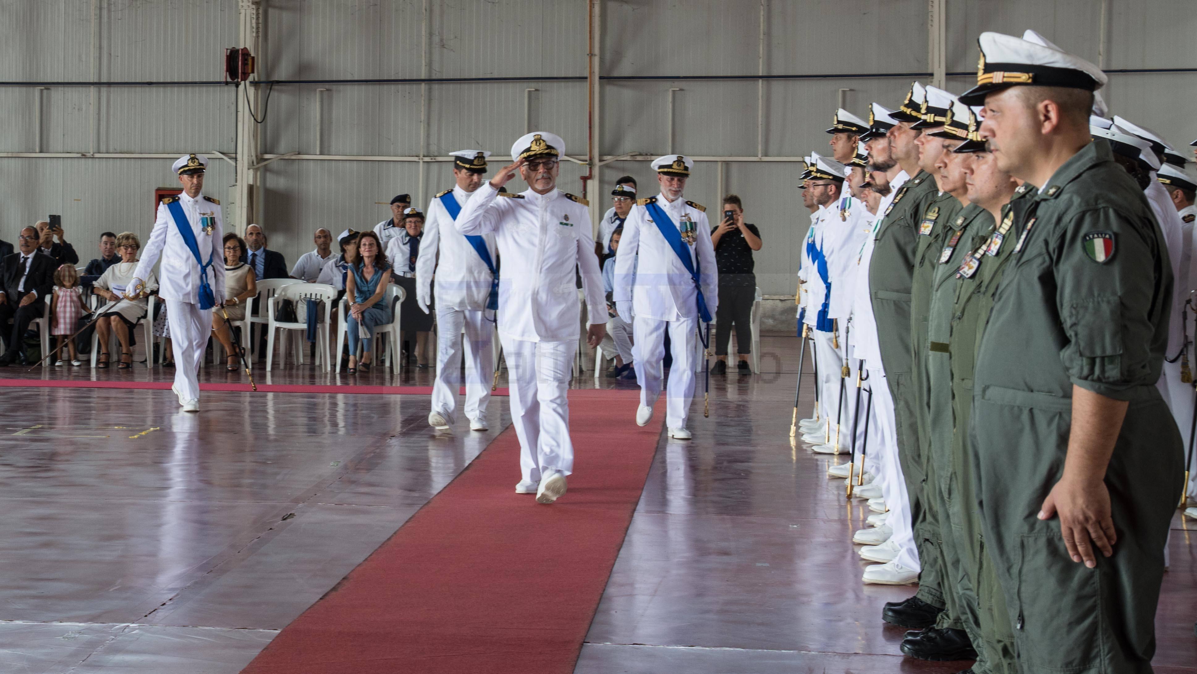 Passaggio di Consegne al Comando del 2° Nucleo Aereo  G.C. Catania