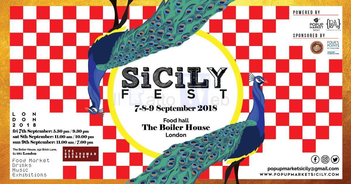Da Catania a Londra con il SicilyFEST: dal 7 al 9 settembre creatività e buon cibo conquistano l'East London