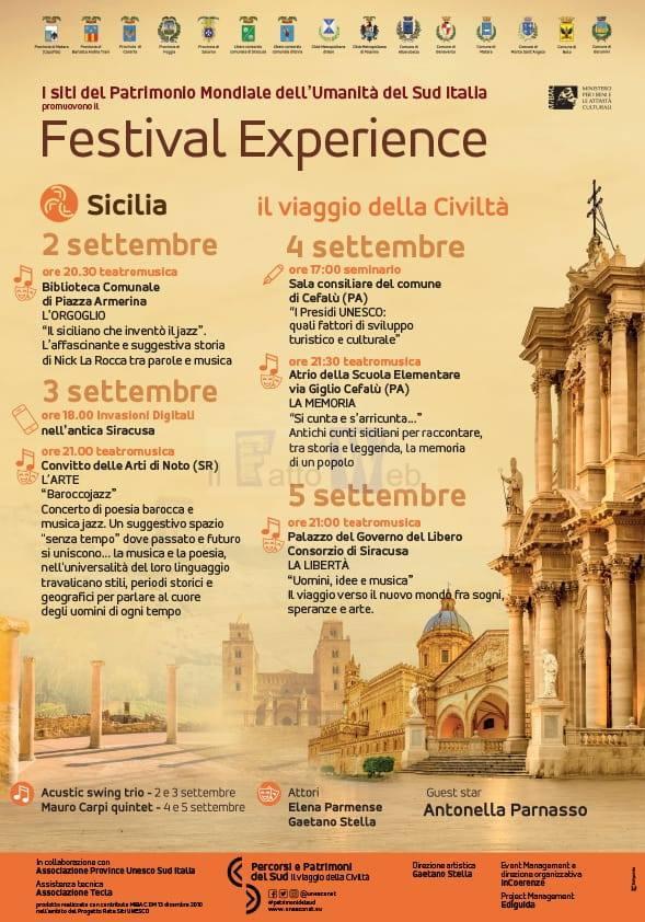 LA SICILIA OSPITA IL PROGETTO RETE SITI UNESCO