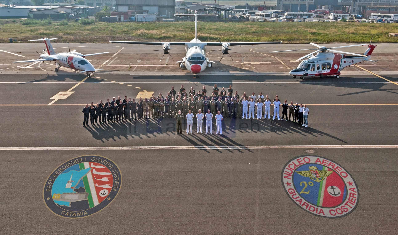 Guardia Costiera : avvicendamento al Comando della  Base Aeromobili di Catania