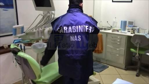 Carabinieri Nas Catania: denunciati falsi dentisti.