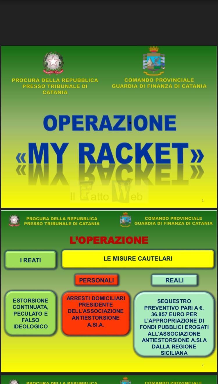 """Arrestato presidente associazione siciliana antiracket """"A.SI.A."""" per estorsione"""
