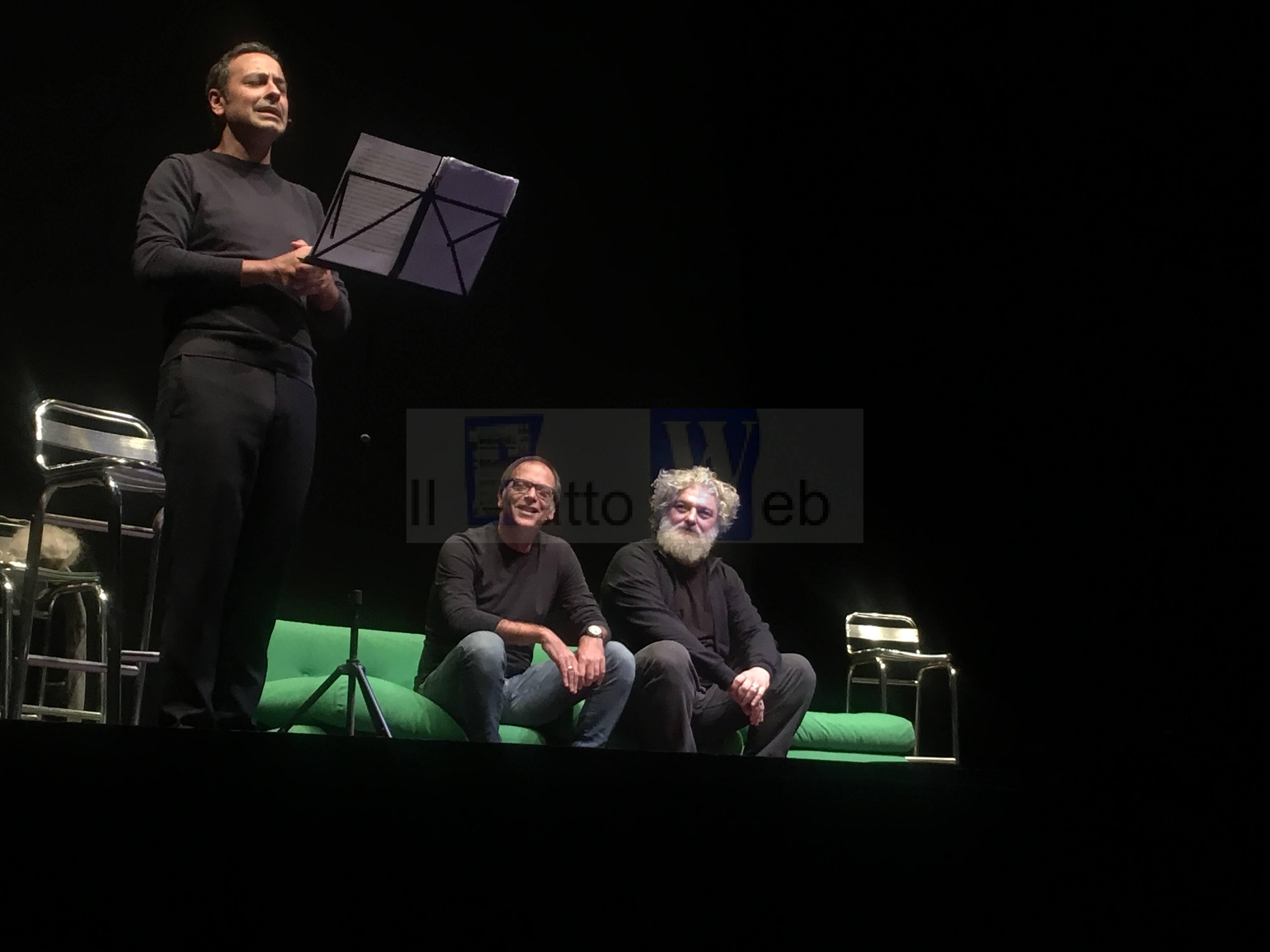 """Riscuote un grande successo la piecè """"La Sicilia spiegata agli eschimesi"""" di Ottavio Cappellanie"""